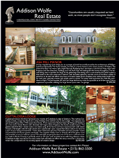 Real Estate-Advertising page for Publication